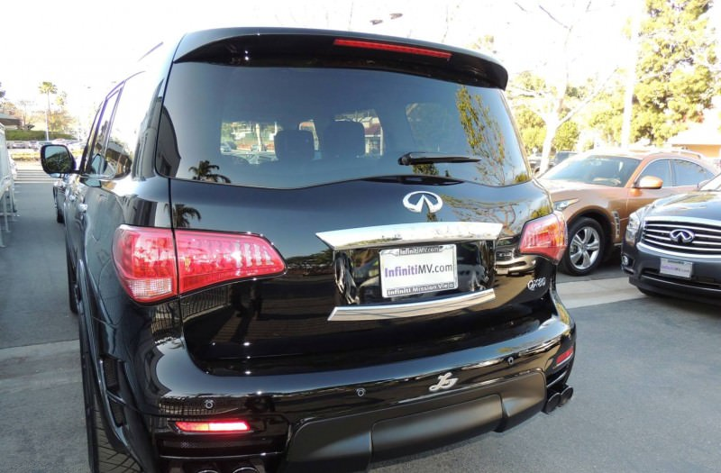 LARTE Design Arrives in California! INFINITI QX80 Customs Are Scary-Cool With 3 Levels of Upgade Kits Offered 50