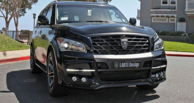 LARTE Design Arrives in California! INFINITI QX80 Customs Are Scary-Cool With 3 Levels of Upgade Kits Offered 51