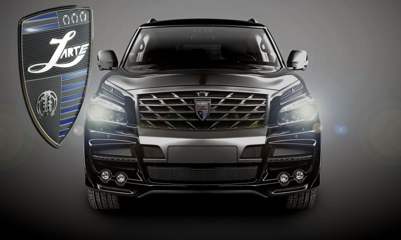 LARTE Design Arrives in California! INFINITI QX80 Customs Are Scary-Cool With 3 Levels of Upgade Kits Offered 64