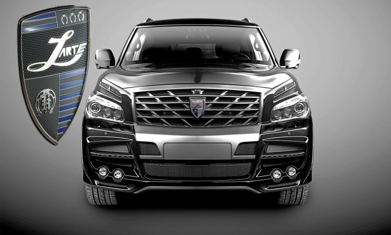 LARTE Design Arrives in California! INFINITI QX80 Customs Are Scary-Cool With 3 Levels of Upgade Kits Offered 66