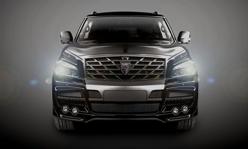 LARTE Design Arrives in California! INFINITI QX80 Customs Are Scary-Cool With 3 Levels of Upgade Kits Offered 67