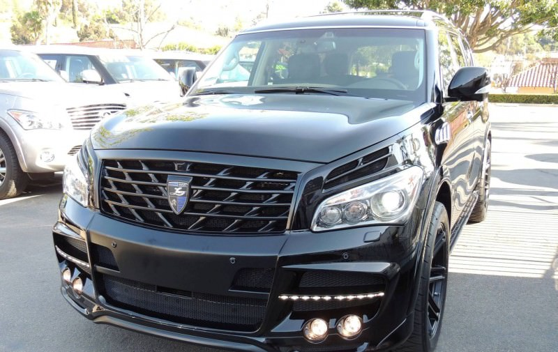 LARTE Design Arrives in California! INFINITI QX80 Customs Are Scary-Cool With 3 Levels of Upgade Kits Offered 8