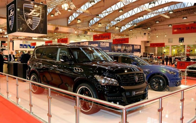 LARTE Design Arrives in California! INFINITI QX80 Customs Are Scary-Cool With 3 Levels of Upgade Kits Offered 9