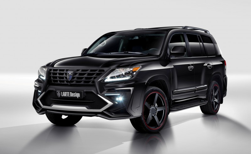 LARTE Design Creates Killer Alligator Upgrade for Lexus LX570 1
