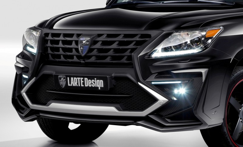 LARTE Design Creates Killer Alligator Upgrade for Lexus LX570 111