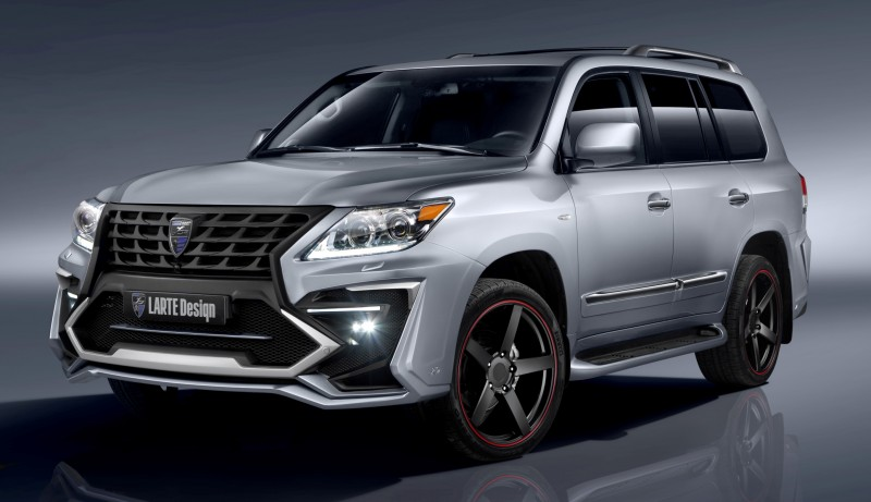 LARTE Design Creates Killer Alligator Upgrade for Lexus LX570 3