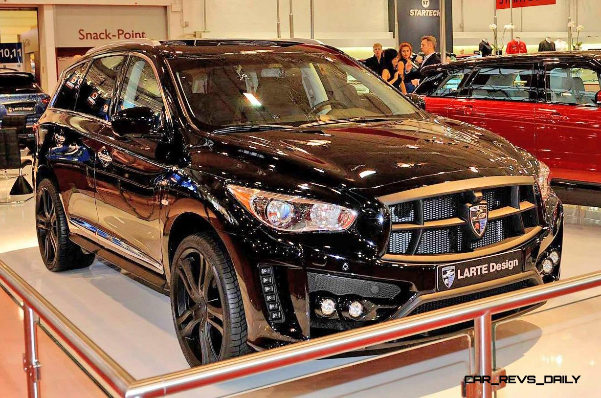Larte Design Infiniti Qx60 Is Completely Transformed Into
