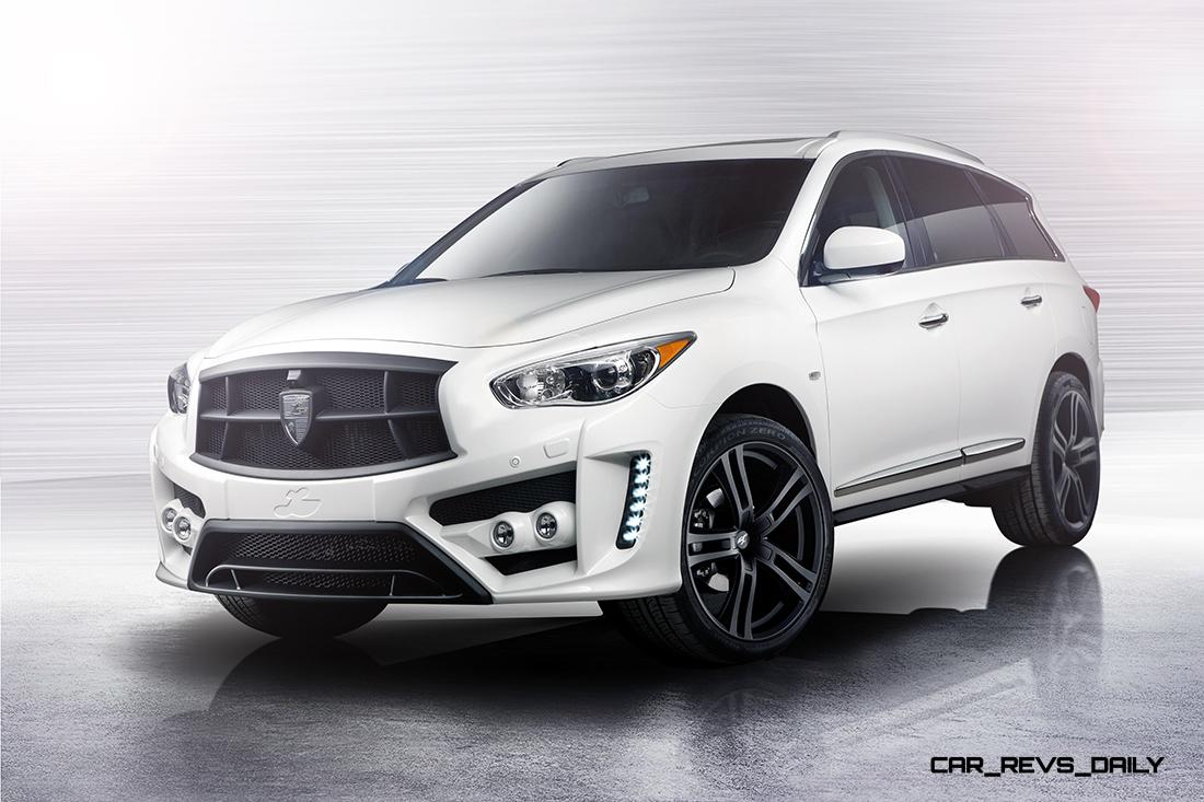 larte design infiniti qx60 is completely transformed into gorgeous performance suv. Black Bedroom Furniture Sets. Home Design Ideas