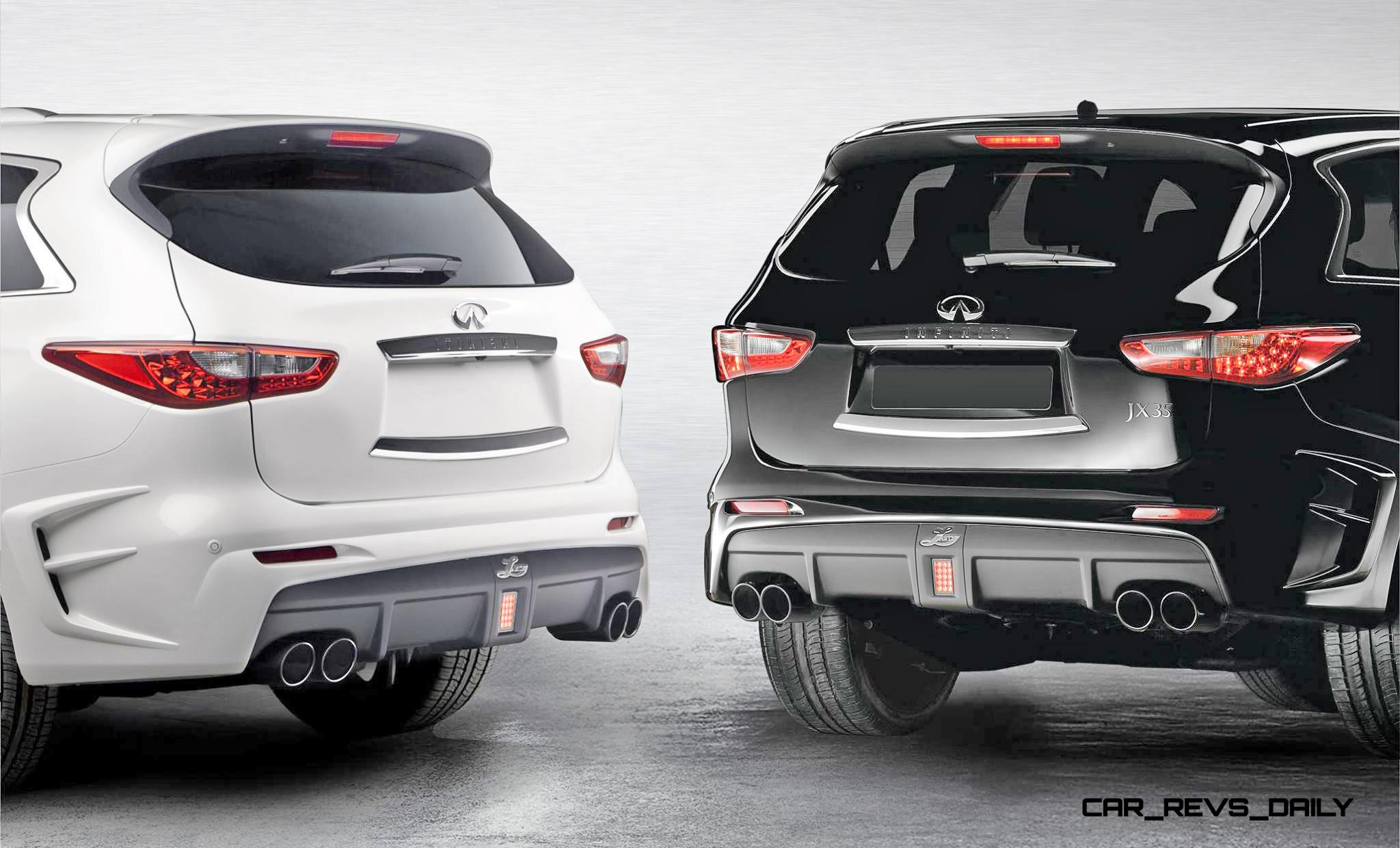 Larte Design Infiniti Qx60 Is Completely Transformed Into Gorgeous