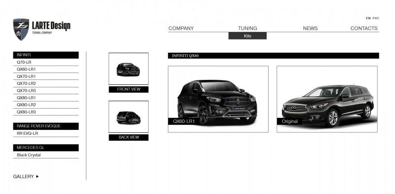 LARTE Design INFINITI QX60 14