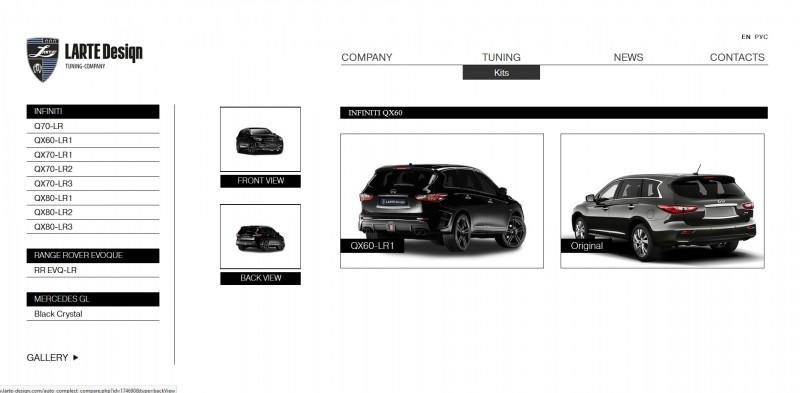 LARTE Design INFINITI QX60 15