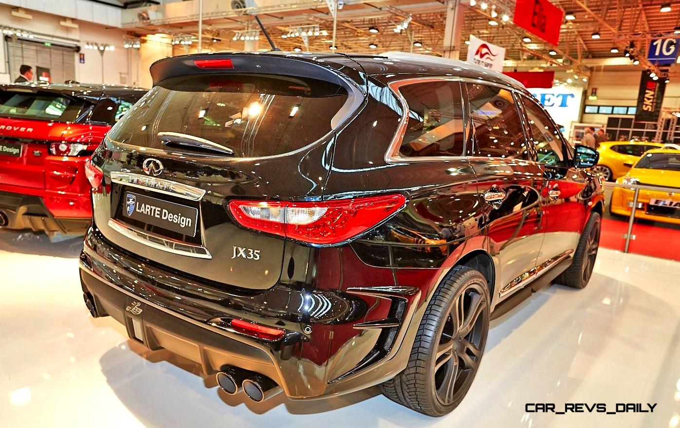 Larte design infiniti qx60 is completely transformed into gorgeous larte design infiniti qx60 24 vanachro Image collections
