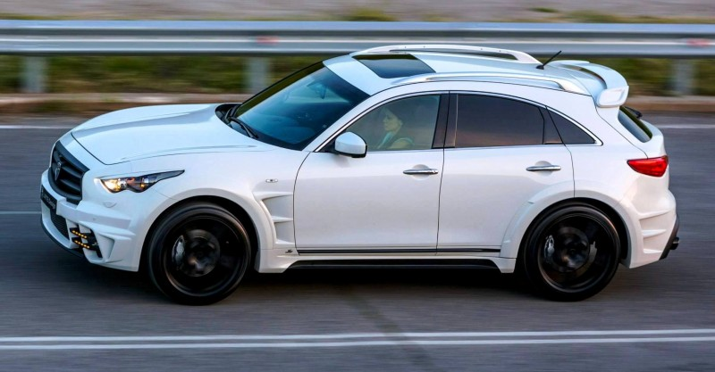LARTE Design INFINITI QX70 Is Mad-Fast, Mad-Sexy SUV Upgrade Program 1