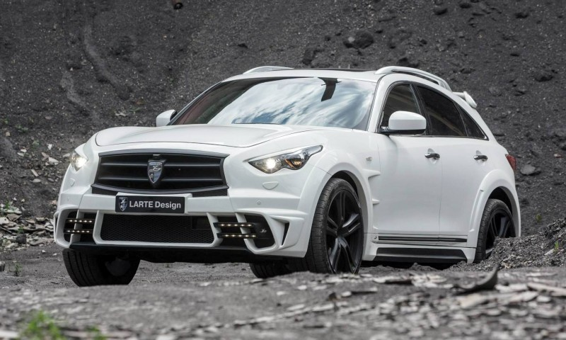 LARTE Design INFINITI QX70 Is Mad-Fast, Mad-Sexy SUV Upgrade Program 10
