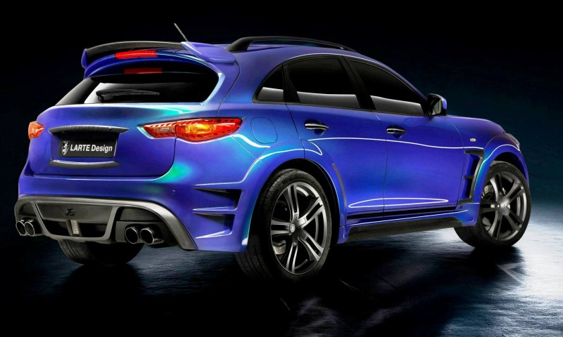 LARTE Design INFINITI QX70 Is Mad-Fast, Mad-Sexy SUV Upgrade Program 11