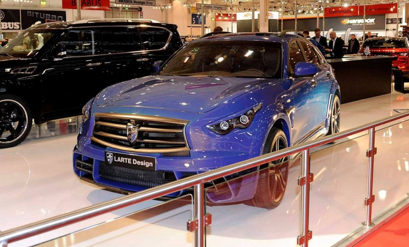 LARTE Design INFINITI QX70 Is Mad-Fast, Mad-Sexy SUV Upgrade Program 13