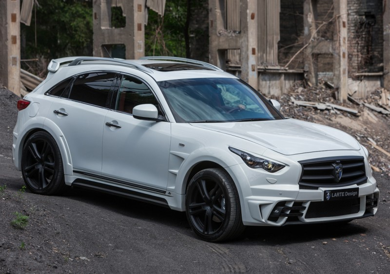 LARTE Design INFINITI QX70 Is Mad-Fast, Mad-Sexy SUV Upgrade Program 15