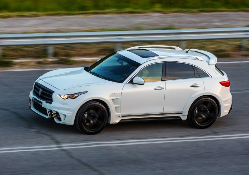 LARTE Design INFINITI QX70 Is Mad-Fast, Mad-Sexy SUV Upgrade Program 17