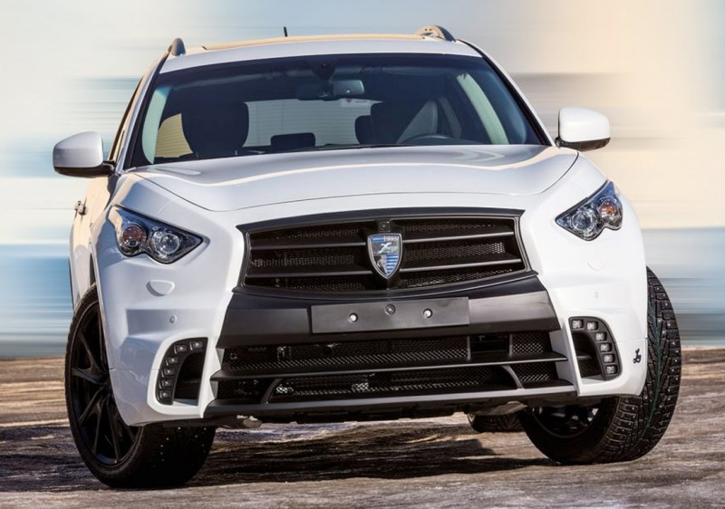 LARTE Design INFINITI QX70 Is Mad-Fast, Mad-Sexy SUV Upgrade Program 19
