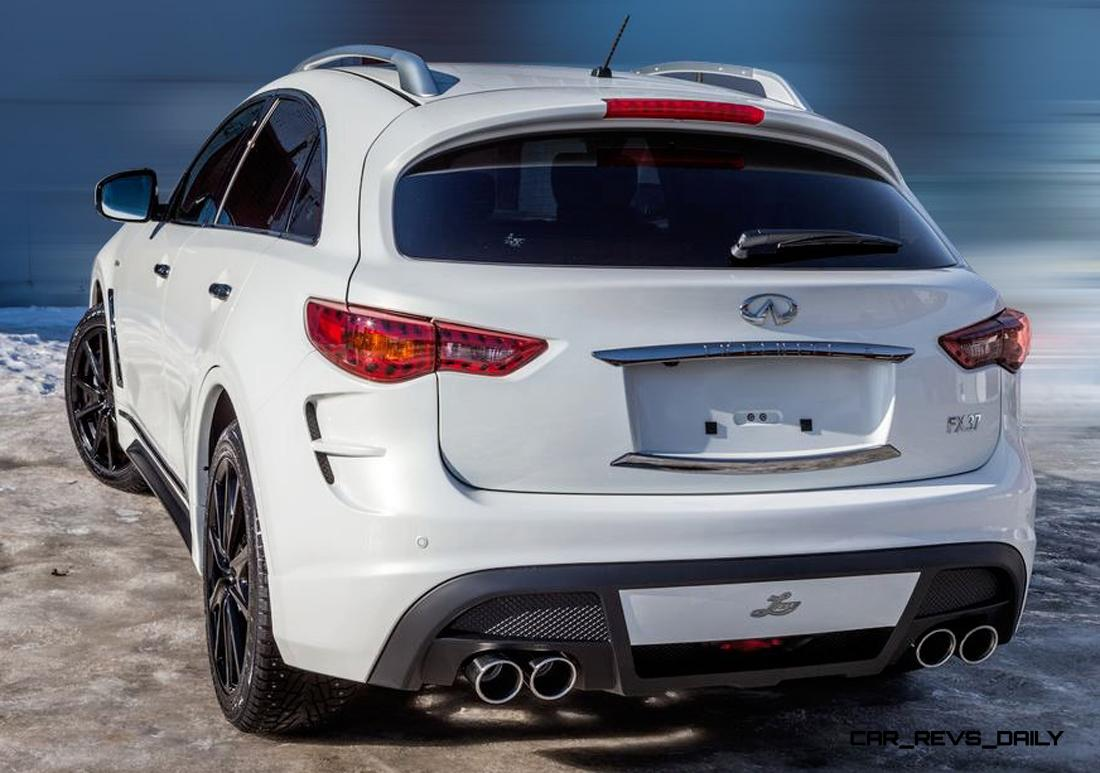 Local Car Auctions >> LARTE Design INFINITI QX70 Is Mad-Fast, Mad-Sexy SUV ...