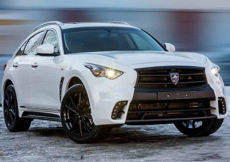 LARTE Design INFINITI QX70 Is Mad-Fast, Mad-Sexy SUV Upgrade Program 21