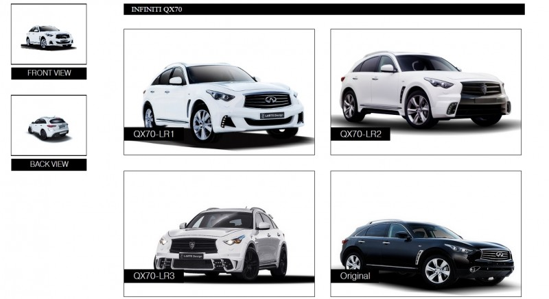 LARTE Design INFINITI QX70 Is Mad-Fast, Mad-Sexy SUV Upgrade Program 24
