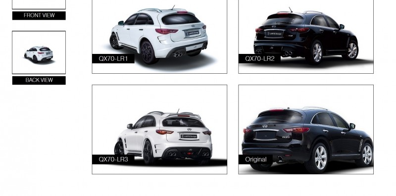 LARTE Design INFINITI QX70 Is Mad-Fast, Mad-Sexy SUV Upgrade Program 25