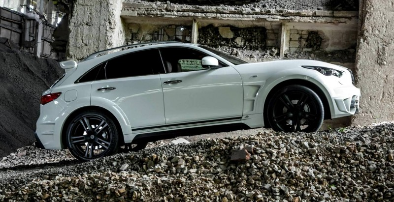 LARTE Design INFINITI QX70 Is Mad-Fast, Mad-Sexy SUV Upgrade Program 26