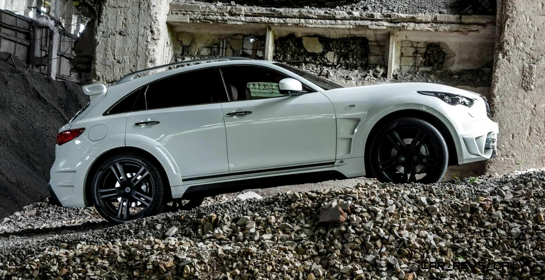 LARTE Design INFINITI QX70 Is Mad-Fast, Mad-Sexy SUV ...
