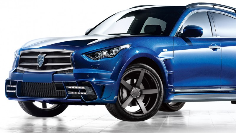 LARTE Design INFINITI QX70 Is Mad-Fast, Mad-Sexy SUV Upgrade Program 29