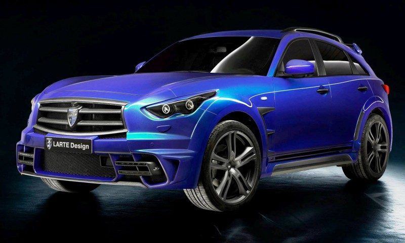 LARTE Design INFINITI QX70 Is Mad-Fast, Mad-Sexy SUV Upgrade Program 4