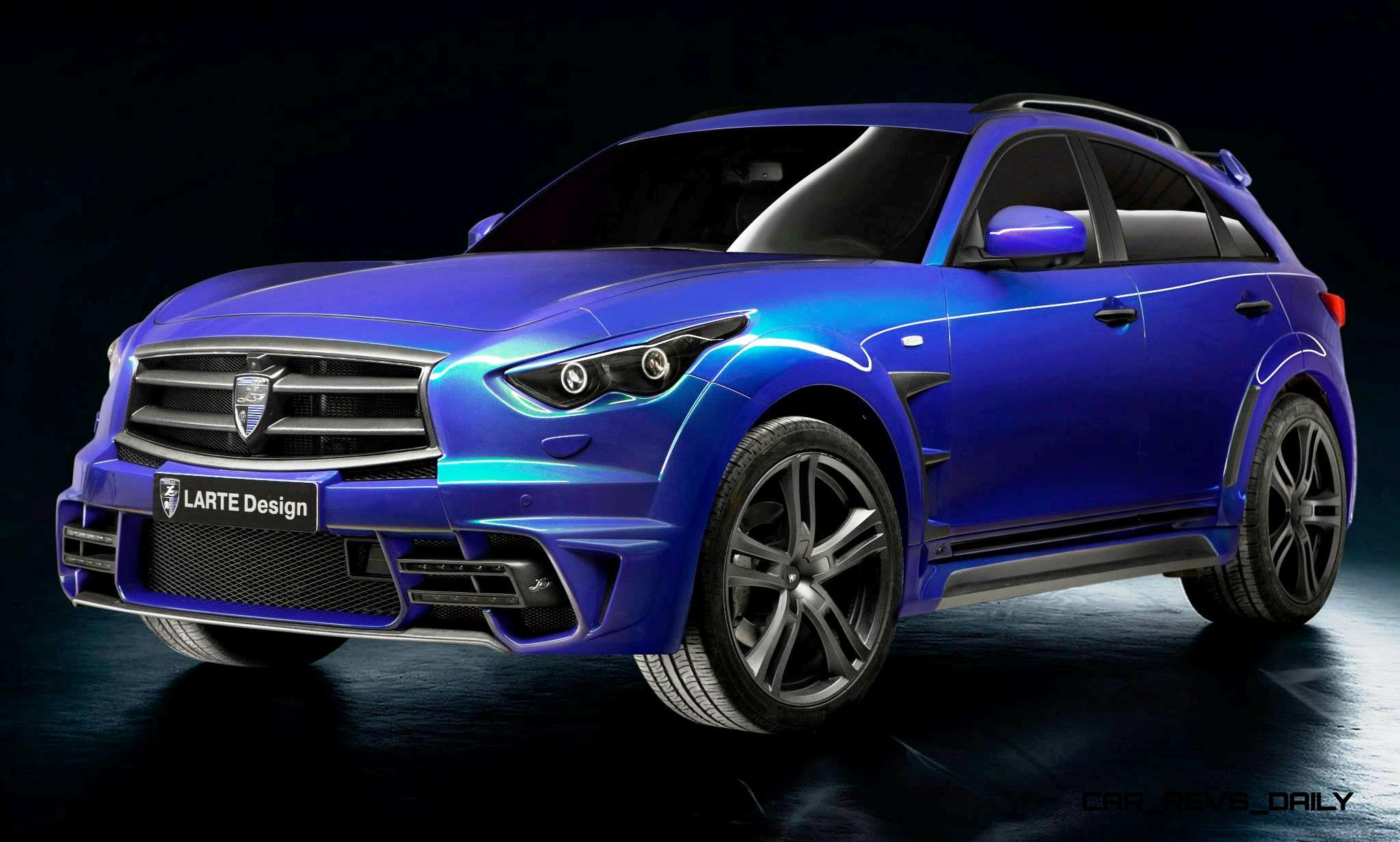 Larte Design Infiniti Qx70 Is Mad Fast Mad Sexy Suv