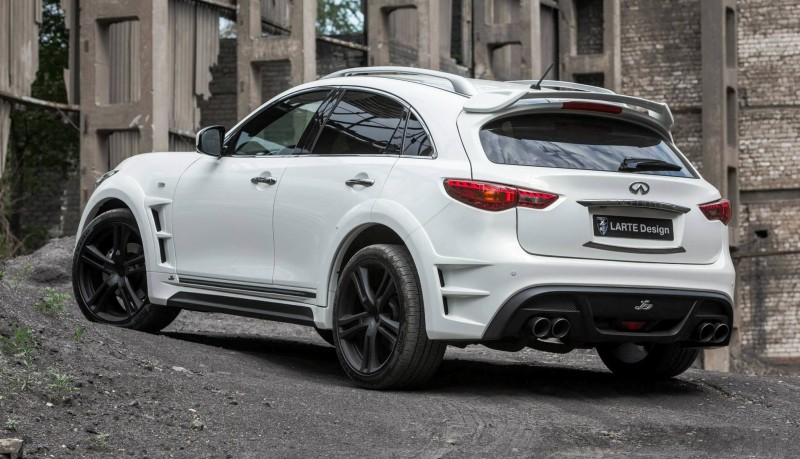 LARTE Design INFINITI QX70 Is Mad-Fast, Mad-Sexy SUV Upgrade Program 5