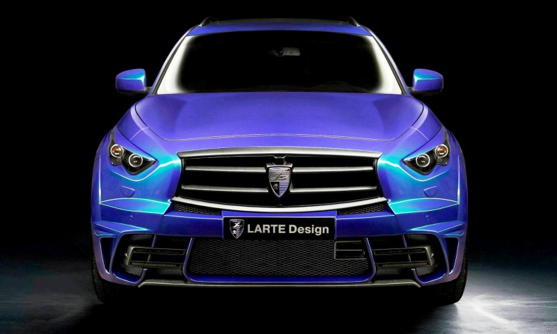 LARTE Design INFINITI QX70 Is Mad-Fast, Mad-Sexy SUV Upgrade Program 7