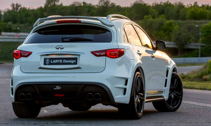LARTE Design INFINITI QX70 Is Mad-Fast, Mad-Sexy SUV Upgrade Program 8