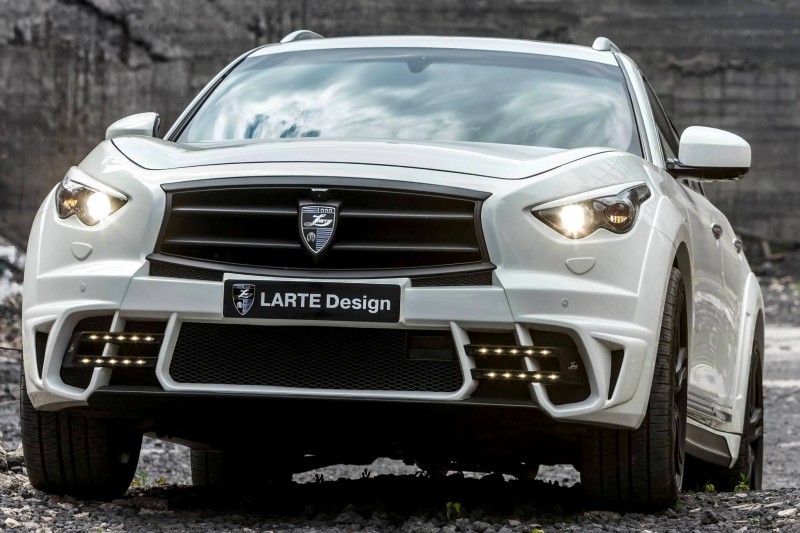 LARTE Design INFINITI QX70 Is Mad-Fast, Mad-Sexy SUV Upgrade Program 9