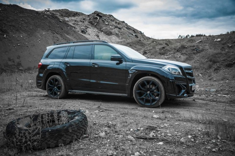 LARTE Design for Mercedes-Benz GL-Class Might Be Their Best Work Yet 1