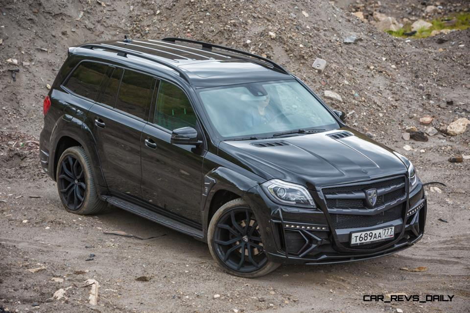 LARTE Design for Mercedes-Benz GL-Class Might Be Their Best Work Yet 12