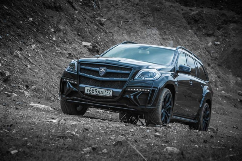 LARTE Design for Mercedes-Benz GL-Class Might Be Their Best Work Yet 13