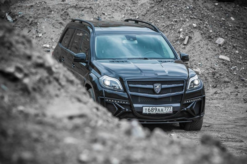LARTE Design for Mercedes-Benz GL-Class Might Be Their Best Work Yet 14