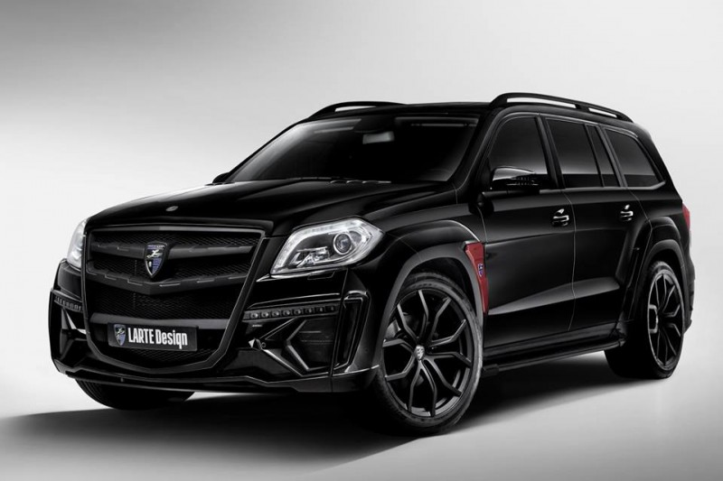 LARTE Design for Mercedes-Benz GL-Class Might Be Their Best Work Yet 2
