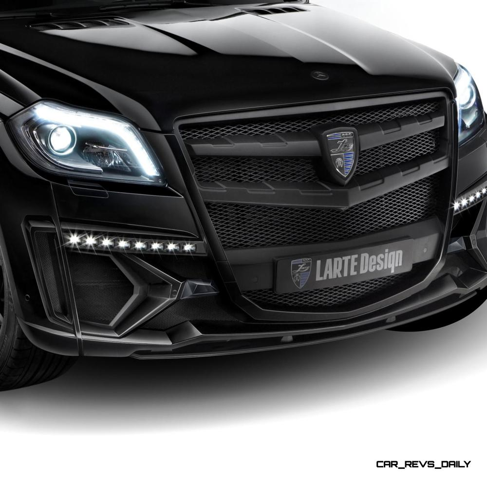 LARTE Design for Mercedes-Benz GL-Class Might Be Their Best Work Yet 21