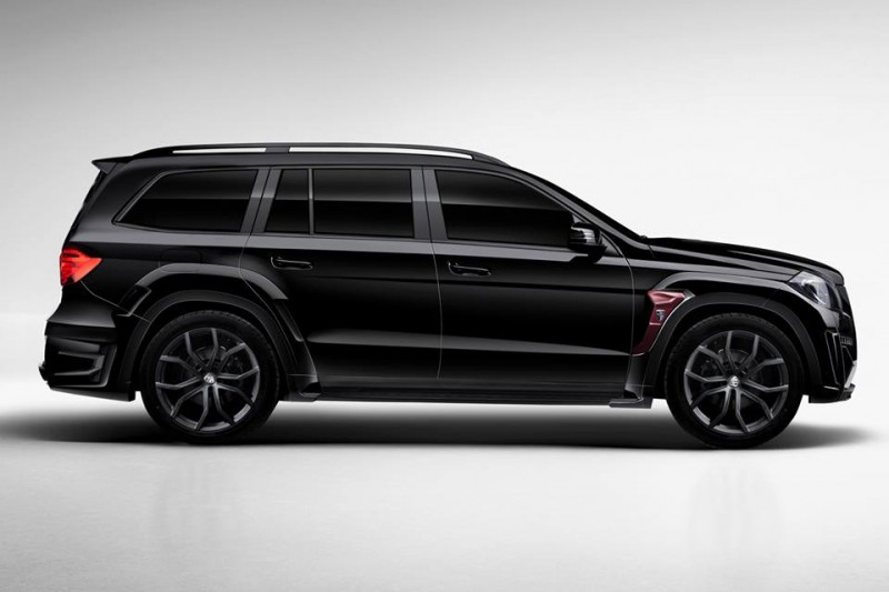 LARTE Design for Mercedes-Benz GL-Class Might Be Their Best Work Yet 4
