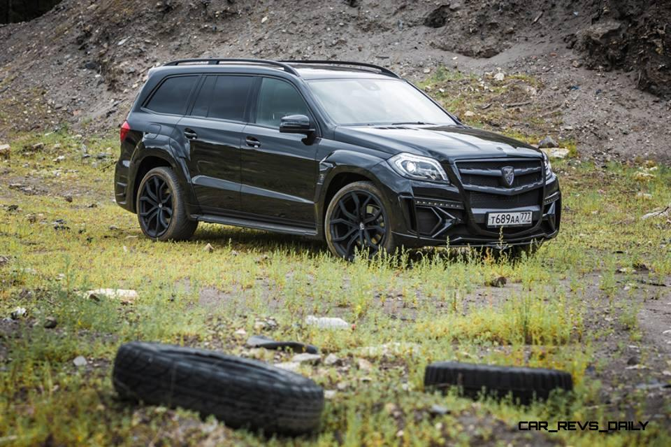 LARTE Design for Mercedes-Benz GL-Class Might Be Their Best Work Yet 5
