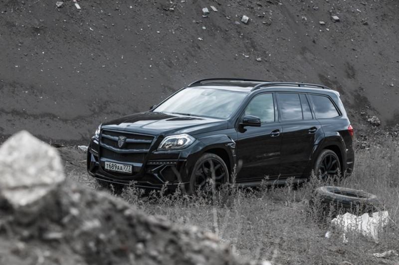 LARTE Design for Mercedes-Benz GL-Class Might Be Their Best Work Yet 8