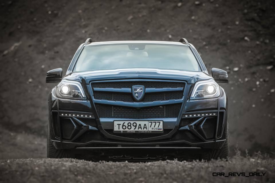 LARTE Design for Mercedes-Benz GL-Class Might Be Their Best Work Yet 9