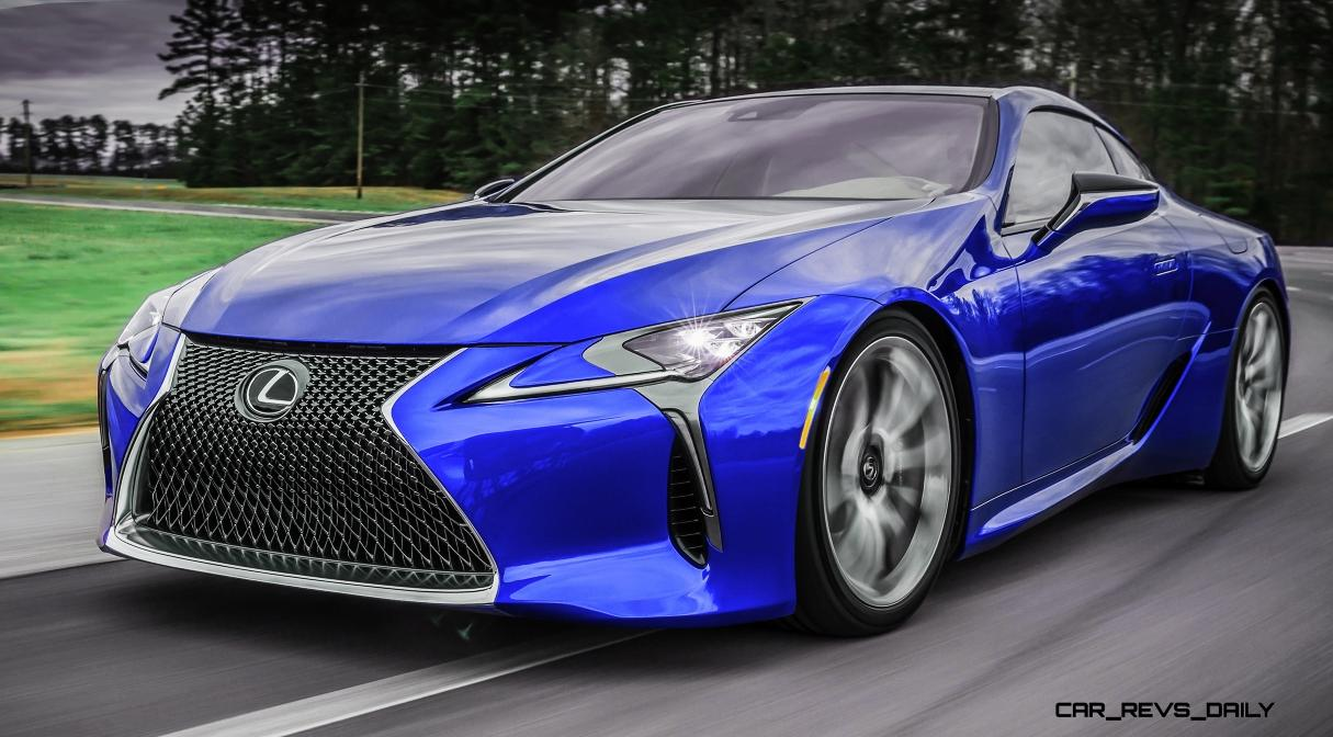 Car Visualizer: 2017 Lexus LC500 COLORS Visualizer + Black Chrome Looks