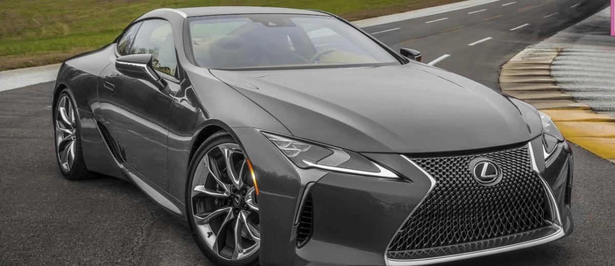 2017 Lexus Lc500 Colors Visualizer Black Chrome Looks