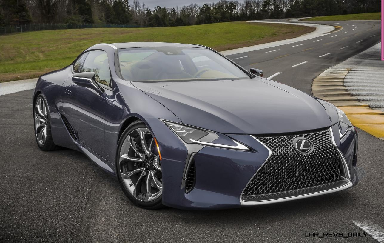 2017 Lexus Lc500 Colors Visualizer Black Chrome Looks 150 Shades 187 Car Revs Daily Com