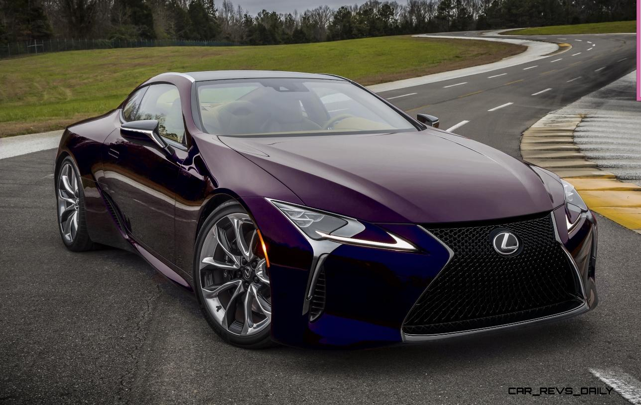 2017 Lexus LC500 COLORS Visualizer + Black Chrome Looks ...